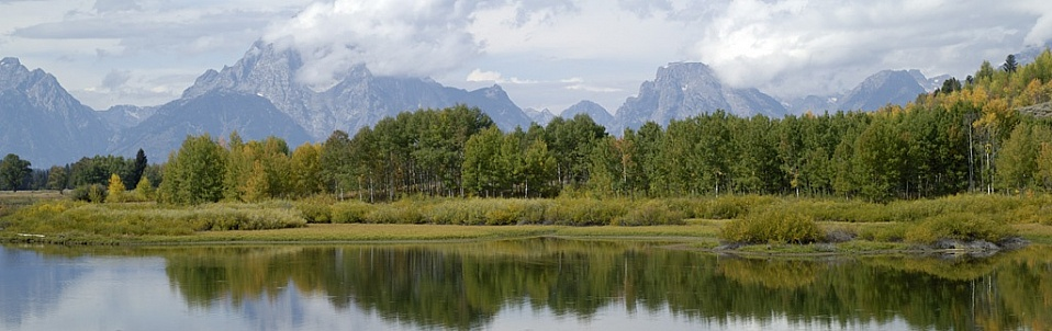 Grand Teton National Park.  Oxbow Bend area.