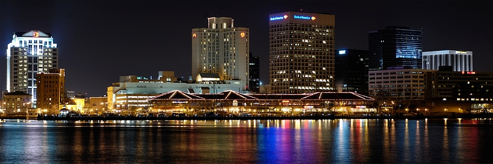 Downtown Norfolk VA